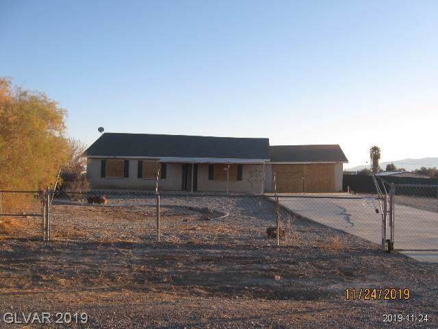 2831 E Deadwood, Pahrump, NV 89048 (MLS #2156928) :: Trish Nash Team
