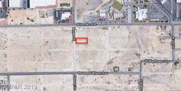 Revere & Plymouth, North Las Vegas, NV 89030 (MLS #2157567) :: The Lindstrom Group