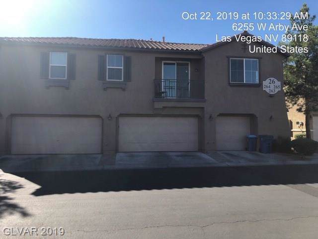 6255 Arby #265, Las Vegas, NV 89118 (MLS #2157824) :: Signature Real Estate Group