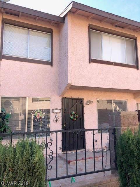4339 Spencer #3, Las Vegas, NV 89119 (MLS #2158524) :: Hebert Group | Realty One Group
