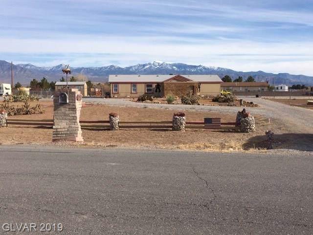 391 S Woodchips, Pahrump, NV 89048 (MLS #2158881) :: Signature Real Estate Group