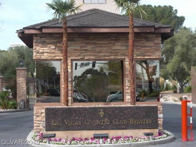682 Oakmont #1501, Las Vegas, NV 89109 (MLS #2159074) :: Hebert Group | Realty One Group