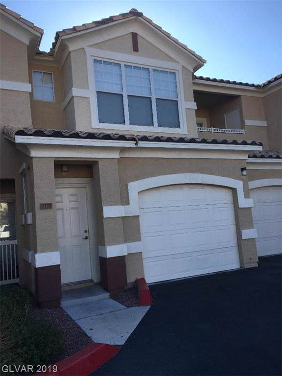 5855 Valley #2139, North Las Vegas, NV 89031 (MLS #2159446) :: Performance Realty