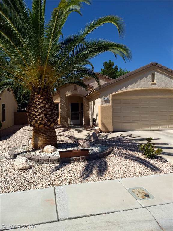 507 Elm Crest Place, Henderson, NV 89012 (MLS #2160500) :: Performance Realty
