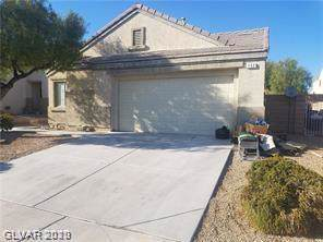132 Tainted Berry, North Las Vegas, NV 89031 (MLS #2165972) :: Brantley Christianson Real Estate