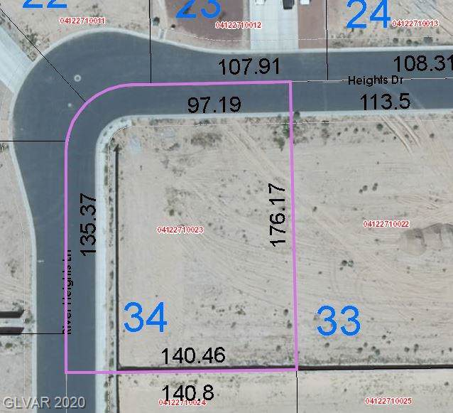 1589 Heights Drive, Logandale, NV 89021 (MLS #2166584) :: The Lindstrom Group