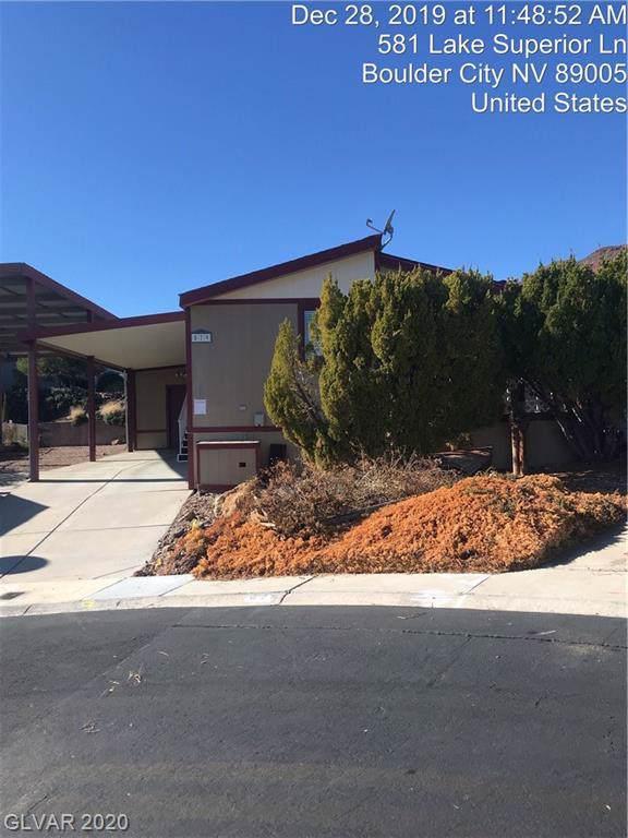 579 Lake Superior, Boulder City, NV 89005 (MLS #2168337) :: Signature Real Estate Group