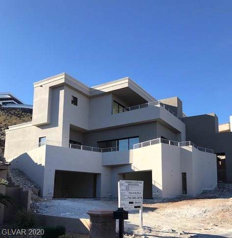 1687 Tangiers Drive, Henderson, NV 89012 (MLS #2169296) :: Signature Real Estate Group