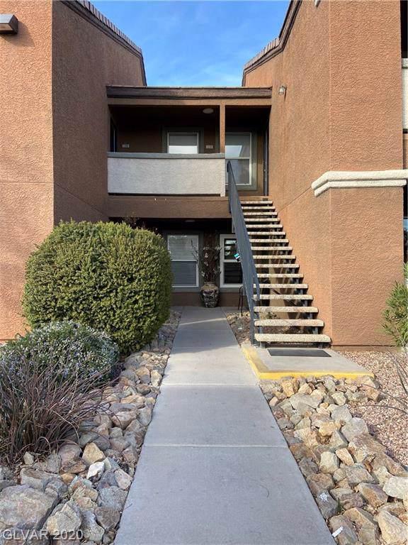 555 Silverado Ranch #1109, Las Vegas, NV 89183 (MLS #2170690) :: Trish Nash Team