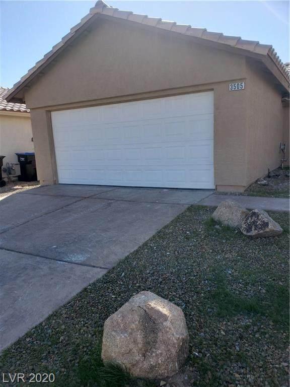 3505 Benson Lane, Las Vegas, NV 89032 (MLS #2176722) :: The Lindstrom Group
