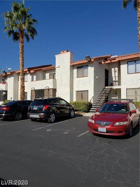 1701 Katie #61, Las Vegas, NV 89119 (MLS #2179113) :: The Shear Team