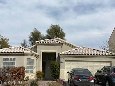 286 Mayberry, Henderson, NV 89052 (MLS #2186841) :: The Lindstrom Group