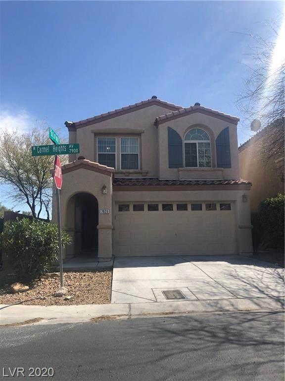 7923 Carmel Heights Avenue, Las Vegas, NV 89178 (MLS #2188452) :: Jeffrey Sabel