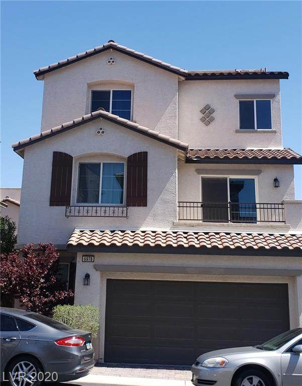 6978 Ebbets Field Street, Las Vegas, NV 89166 (MLS #2188918) :: Brantley Christianson Real Estate