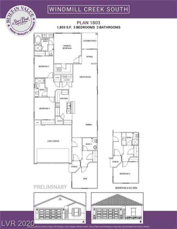 8646 Vondel Park Street Lot 28, Las Vegas, NV 89148 (MLS #2189054) :: Performance Realty