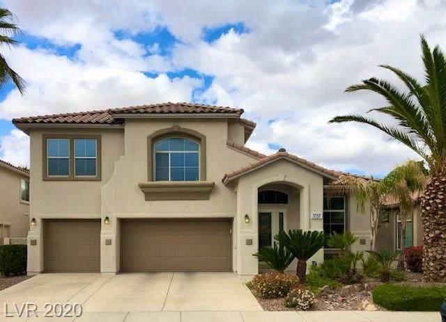 3058 Blazing Creek Way, Henderson, NV 89052 (MLS #2189224) :: Signature Real Estate Group