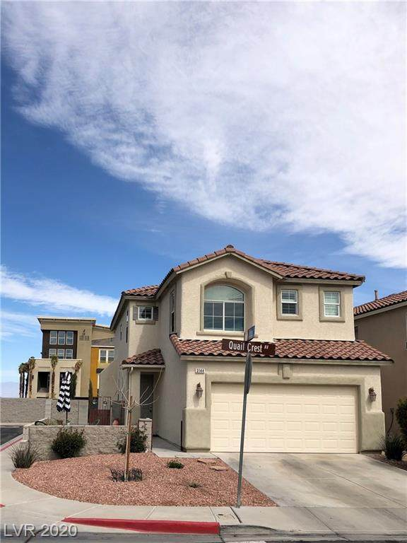 3144 Quail Crest, Henderson, NV 89052 (MLS #2189310) :: Signature Real Estate Group