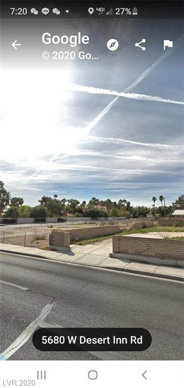 5825 Desert Inn, Las Vegas, NV 89146 (MLS #2192481) :: Jeffrey Sabel