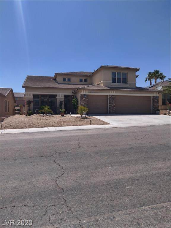 6513 Black Star Point, North Las Vegas, NV 89084 (MLS #2200236) :: Signature Real Estate Group