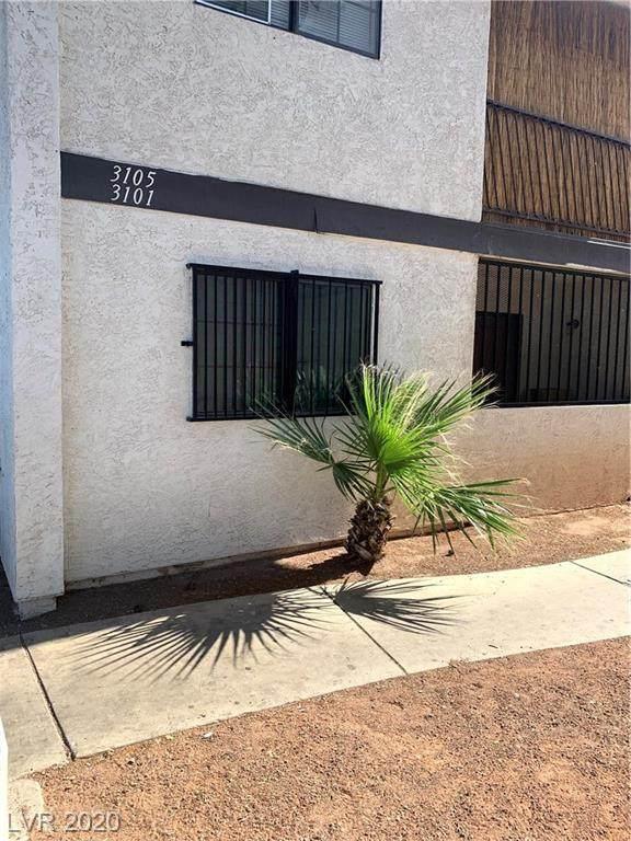 3101 Plumwood #102, North Las Vegas, NV 89030 (MLS #2201055) :: The Shear Team