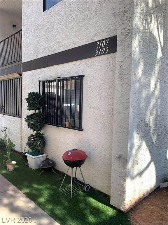 3103 Plumwood #101, North Las Vegas, NV 89030 (MLS #2201060) :: The Shear Team
