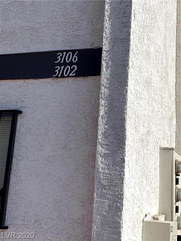 3102 Orangewood #101, North Las Vegas, NV 89030 (MLS #2201080) :: Hebert Group | Realty One Group