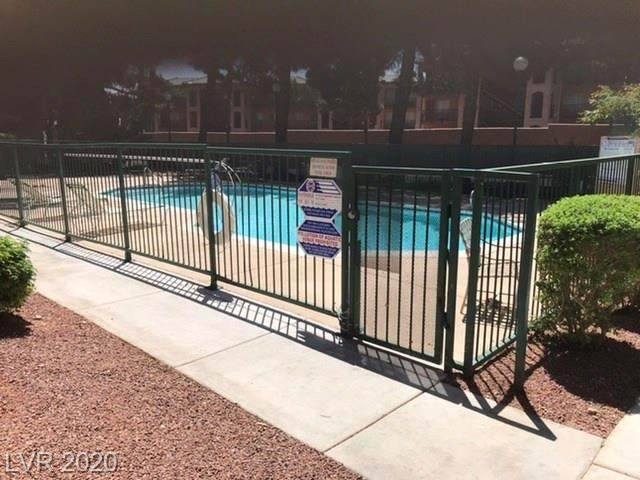 490 Elm Drive #204, Las Vegas, NV 89169 (MLS #2205476) :: The Perna Group