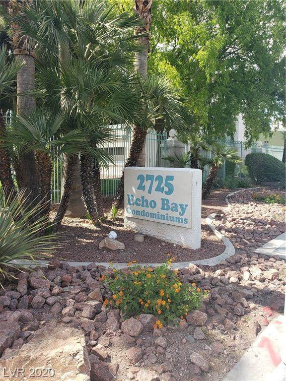 2725 S Nellis Boulevard #2103, Las Vegas, NV 89121 (MLS #2206397) :: The Shear Team