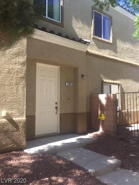 6316 Sandy Ridge Street #102, North Las Vegas, NV 89081 (MLS #2206660) :: Performance Realty