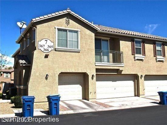 6255 Arby Avenue #367, Las Vegas, NV 89118 (MLS #2206941) :: The Shear Team