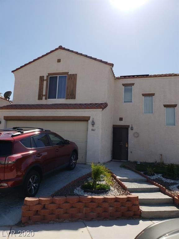 861 Kenicott Place, Las Vegas, NV 89110 (MLS #2209092) :: The Lindstrom Group
