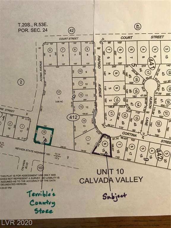1871 Nevada Highway 160, Pahrump, NV 89048 (MLS #2209870) :: Signature Real Estate Group