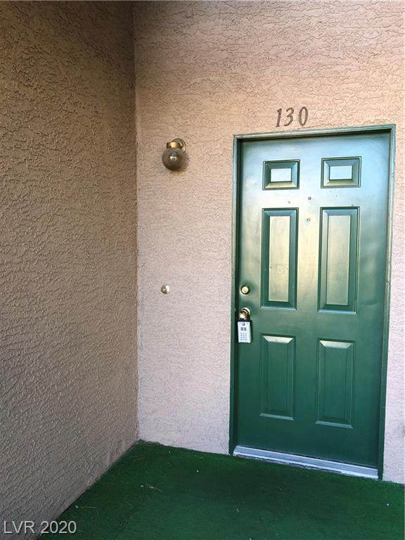6750 Del Rey Avenue #130, Las Vegas, NV 89146 (MLS #2212628) :: The Lindstrom Group