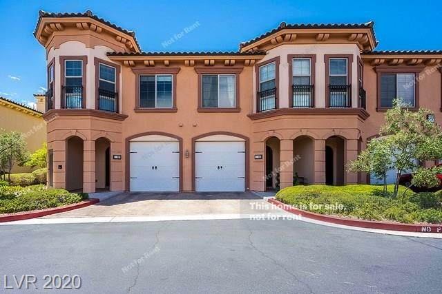30 Via Vasari #101, Henderson, NV 89011 (MLS #2215462) :: The Perna Group