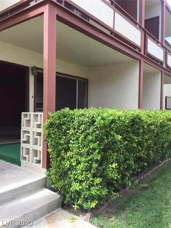 350 Desert Inn Road E101, Las Vegas, NV 89109 (MLS #2216680) :: Kypreos Team