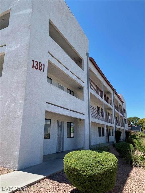 1381 University Avenue #203, Las Vegas, NV 89119 (MLS #2216938) :: Hebert Group | Realty One Group