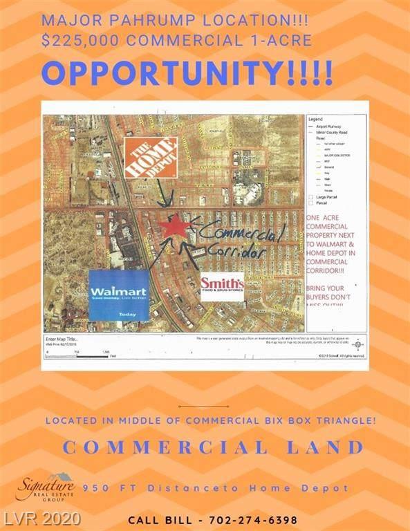 60 Humahuaca Street, Pahrump, NV 89048 (MLS #2217820) :: The Lindstrom Group