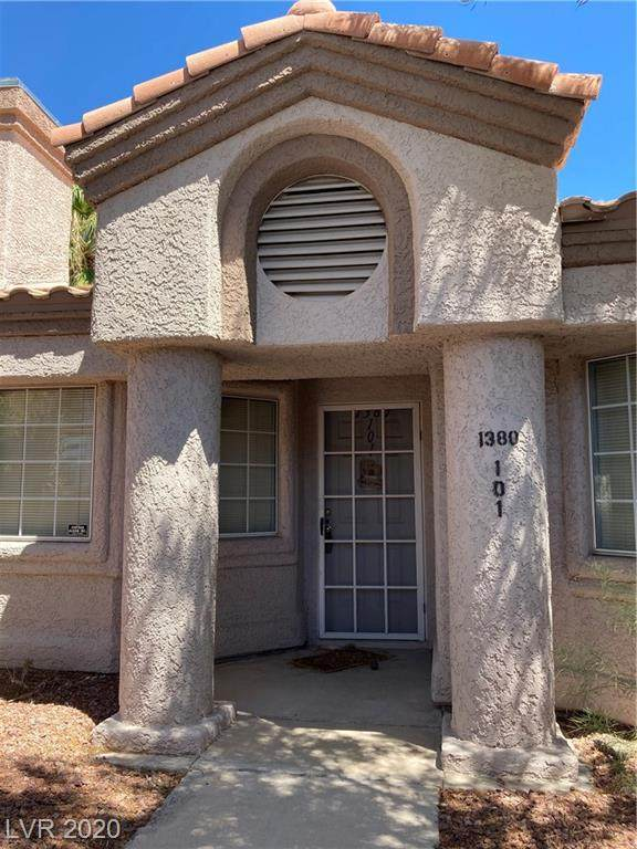 1380 Di Blasi Drive #101, Las Vegas, NV 89119 (MLS #2221530) :: Helen Riley Group | Simply Vegas