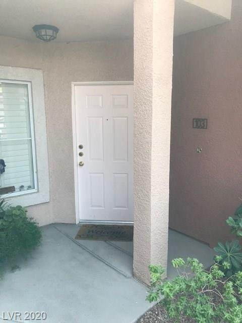 900 Duckhorn Court #103, Las Vegas, NV 89144 (MLS #2224267) :: Kypreos Team