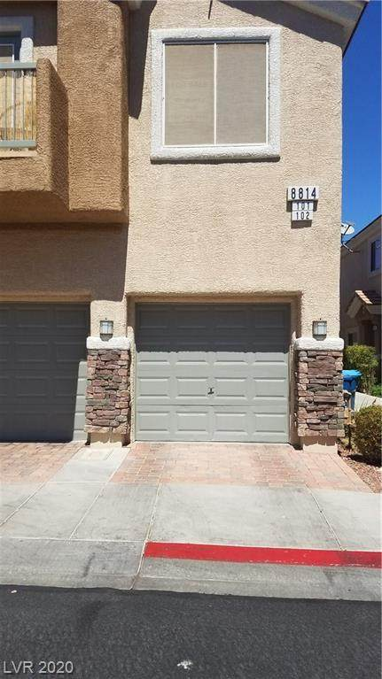 8814 Traveling Breeze Avenue #101, Las Vegas, NV 89178 (MLS #2226659) :: The Mark Wiley Group | Keller Williams Realty SW