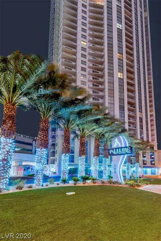 200 Sahara #2507, Las Vegas, NV 89102 (MLS #2228737) :: Hebert Group | Realty One Group