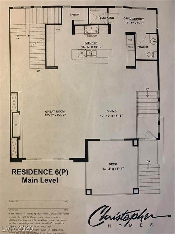 430 Tranquil Peak Court, Henderson, NV 89012 (MLS #2232293) :: Jeffrey Sabel