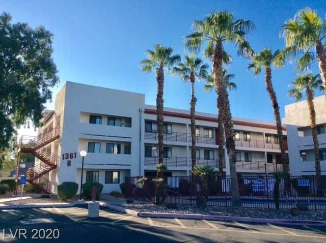 1361 University Avenue #305, Las Vegas, NV 89119 (MLS #2235360) :: Team Michele Dugan