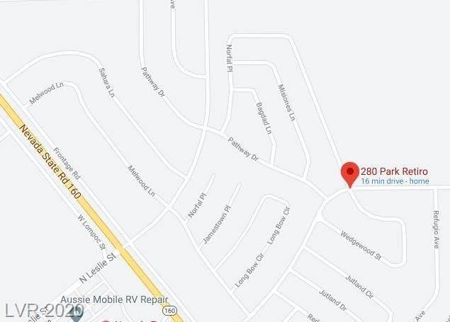 280 Park Retiro, Pahrump, NV 89060 (MLS #2237075) :: Signature Real Estate Group
