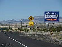 741 Frontage Road, Pahrump, NV 89048 (MLS #2242049) :: The Lindstrom Group