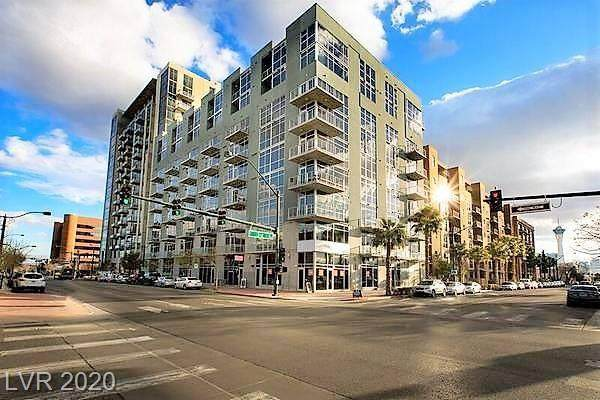 353 E Bonneville Avenue #239, Las Vegas, NV 89101 (MLS #2243319) :: The Perna Group