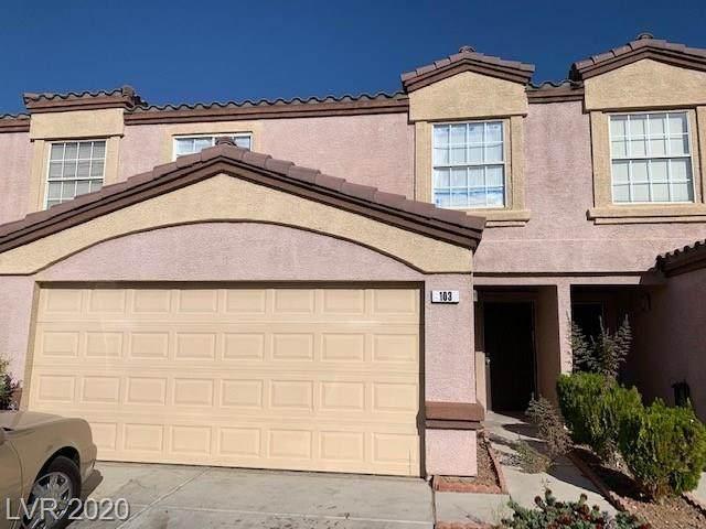 2528 Sierra Bello Avenue #103, Las Vegas, NV 89106 (MLS #2248115) :: The Lindstrom Group