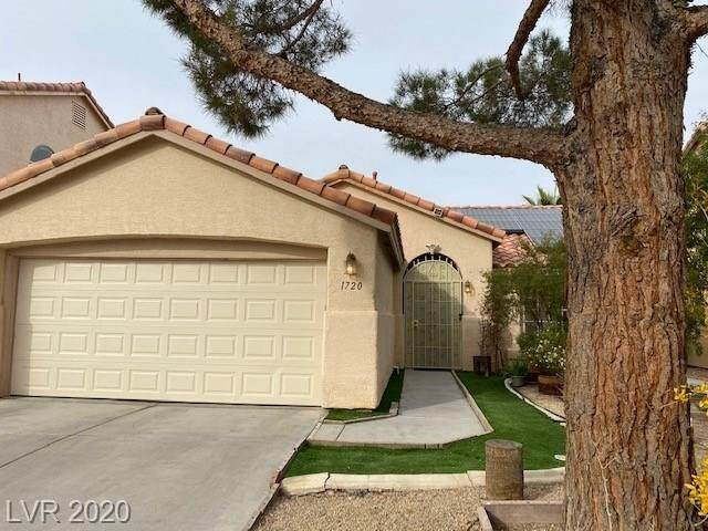 1720 Ashburn Drive, North Las Vegas, NV 89032 (MLS #2251036) :: Jeffrey Sabel