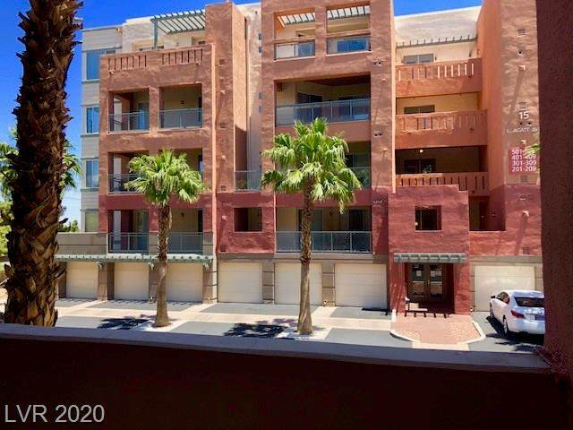 19 Agate Avenue #204, Las Vegas, NV 89123 (MLS #2251942) :: The Shear Team