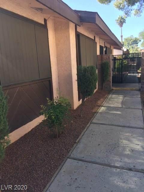 1722 University Avenue #2, Las Vegas, NV 89119 (MLS #2252043) :: ERA Brokers Consolidated / Sherman Group